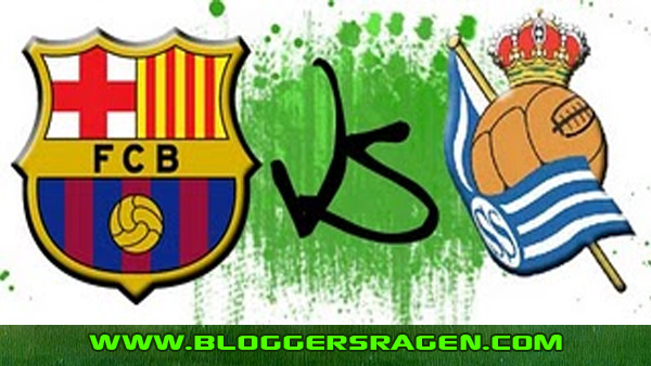 Pertandingan Bola Barcelona Vs Real Sociedad