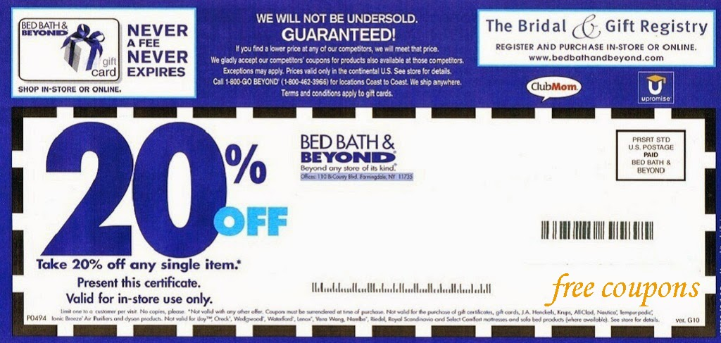 bed bath and beyond coupons april 2014. Black Bedroom Furniture Sets. Home Design Ideas