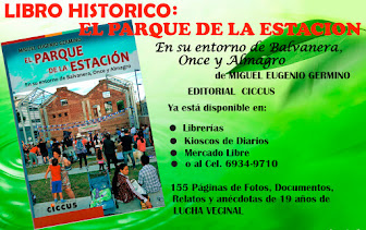 LIBRO SOBRE LA HISTORIA DEL PARQUE DE LA ESTACIÓN