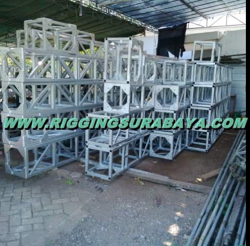 proses pembuatan perakitan rigging stage murah surabaya