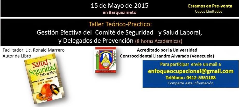 Curso Comité, salud, delegados de prevención, enfoque ocupaciopnal
