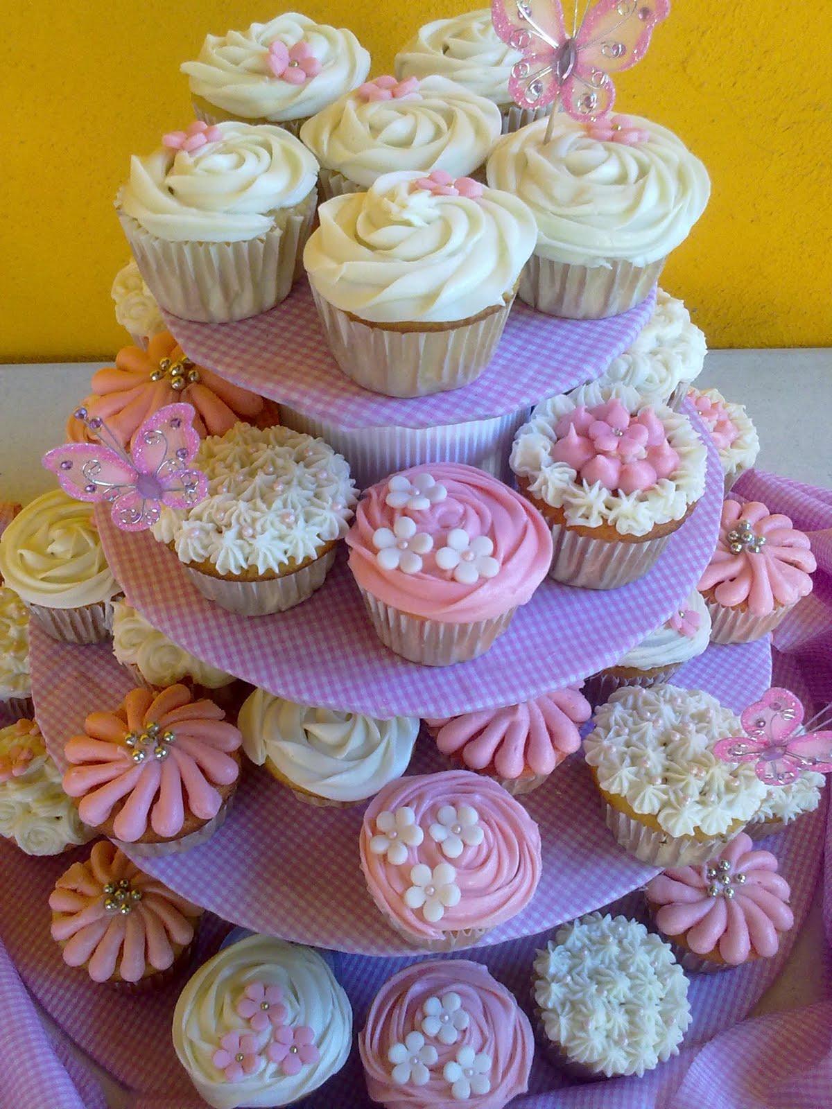 Kchelito 39 s cupcakes bautizo ni a for Decoracion en cupcakes