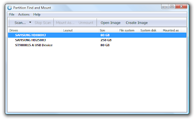 Partition Find and Mount Pro 2.31