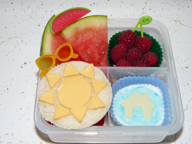 summer bento lunch