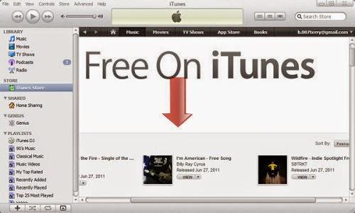 Cara download lagu gratis di itunes lewat google