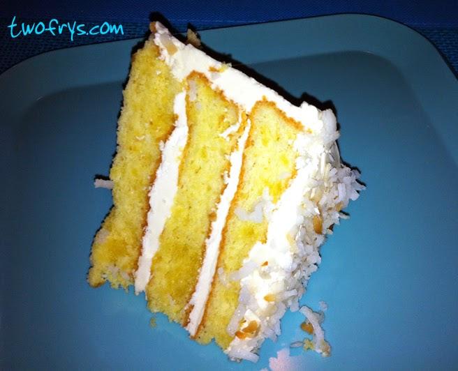 Two Frys: Gluten-Free Coconut Layer Cake
