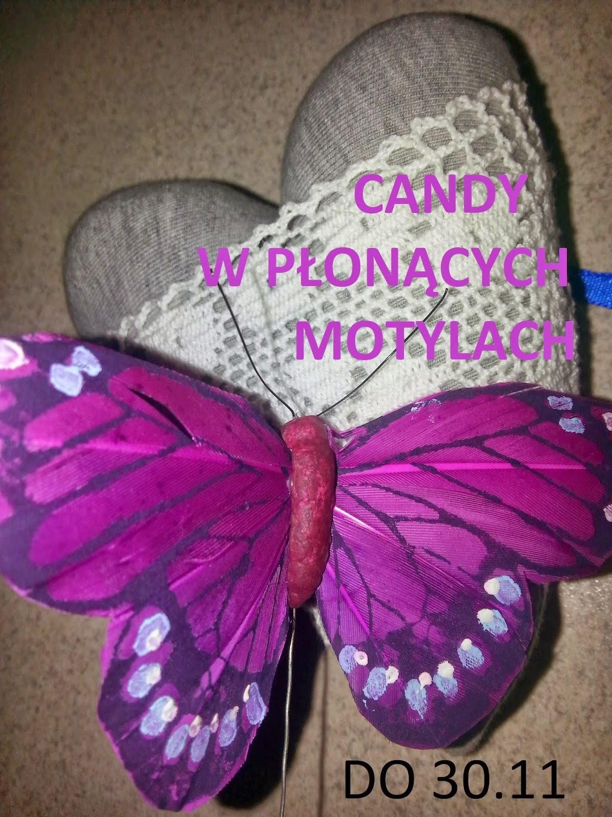 Candy w Płonących Motylach