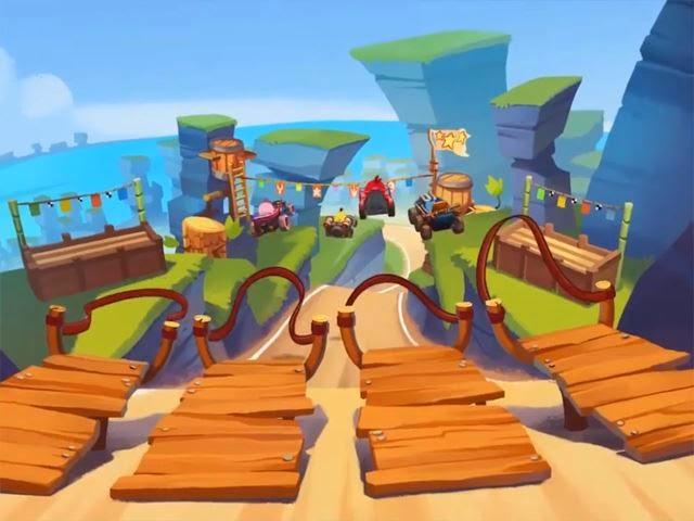 Angry Birds Go uno de los mejores juegos de carreras para tus