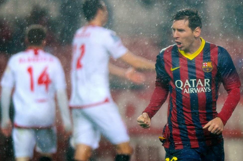 Spanish Soccer Liga 2014