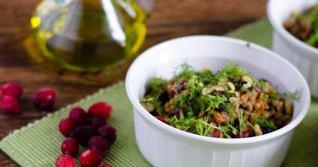 Sweet Roots {Infusions of Herbal Living}: Cranberry Lentil ...