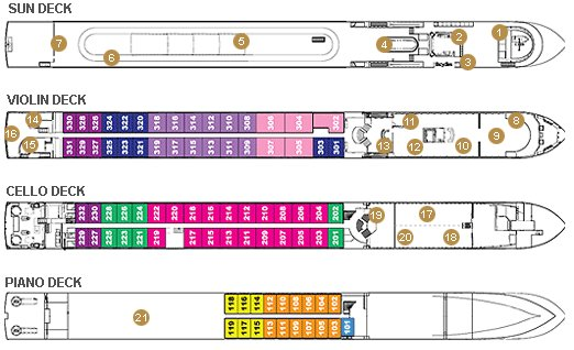 Container Ship Deck Plans : Cruise ship jobs career on yachts cargo crew