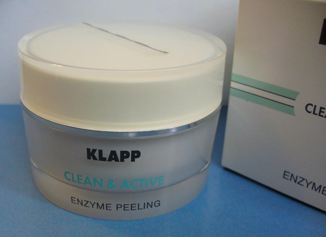 Zelenoglazka: энзимный пилинг enzime peeling немецкой профессиональной марки klapp..