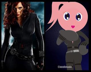 Pink Widow