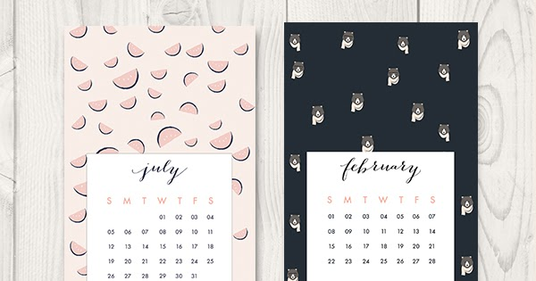 Canada Goose kids sale shop - Oh the lovely things: Free Printable 2015 Calendar