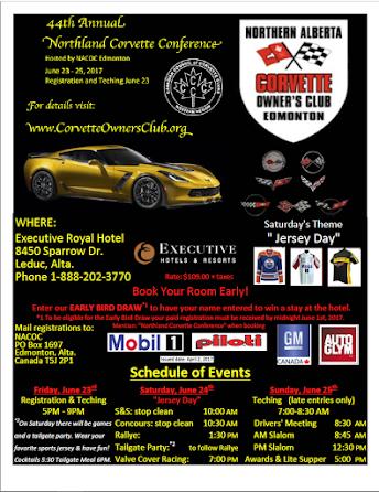 Northland Corvette Conference 2017