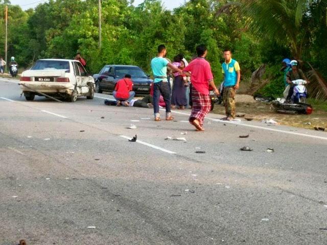 2 Pelajar Maut Dilanggar Diseret Hilux di Kampung Telaga Papan 10 Foto