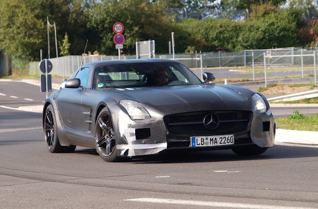 Mercedes SLS: Black Series
