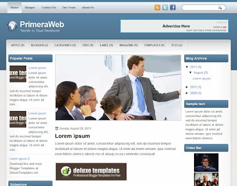 PrimeraWeb Blogger Theme