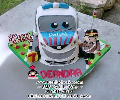 Kue Tart 3d Mobil Polisi Daerah Surabaya - Sidoarjo