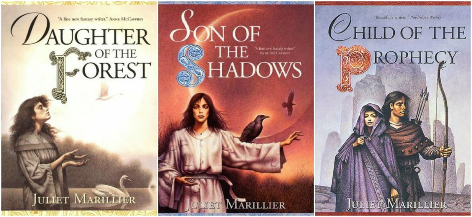 Daughter of the Forest / Son of the Shadows / Child of the Prophecy book cover