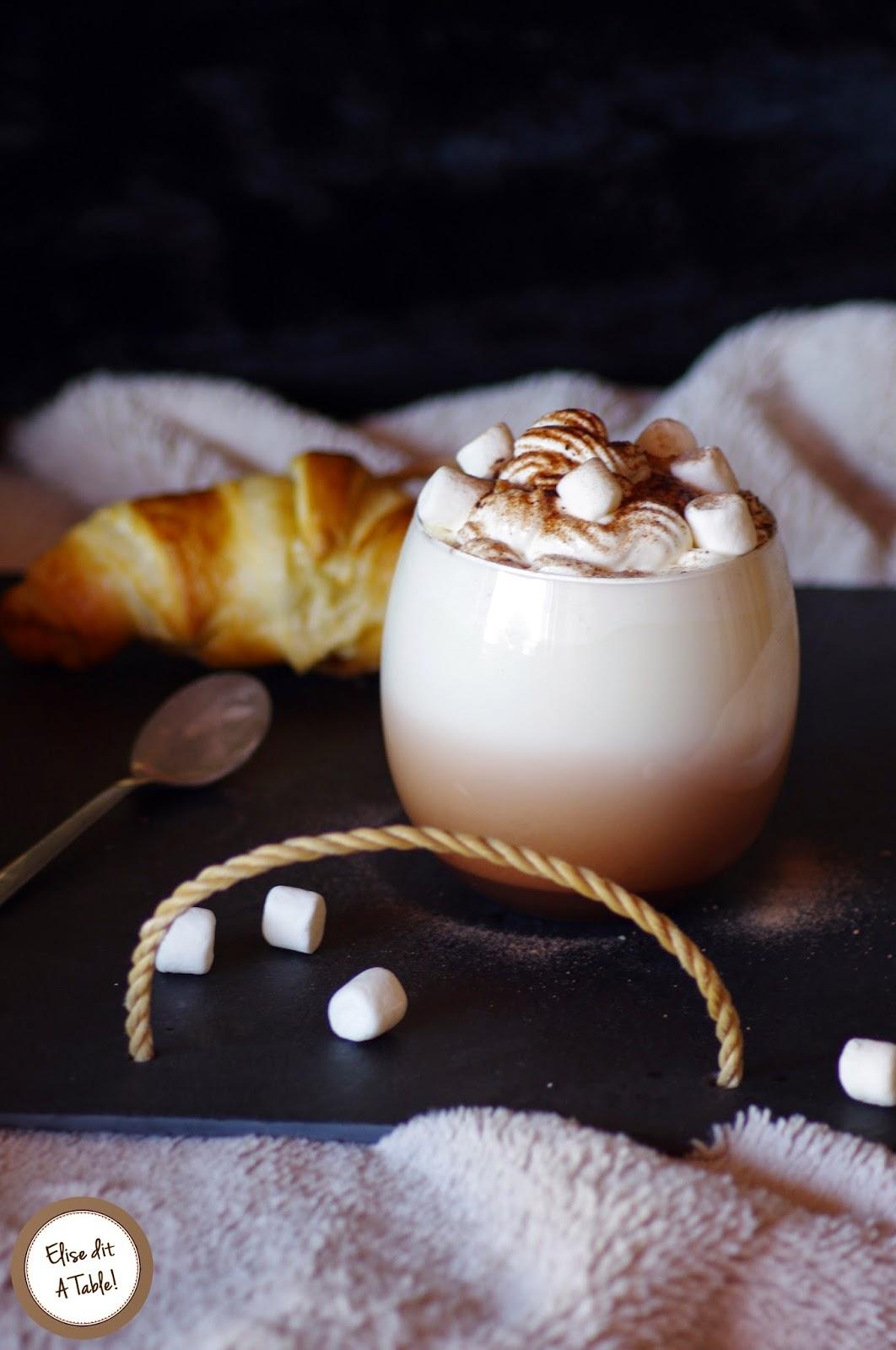 recette chocolat chaud chantilly