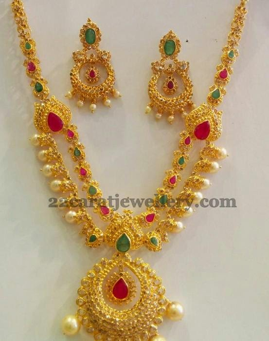 Chandbali Necklace by SMJ