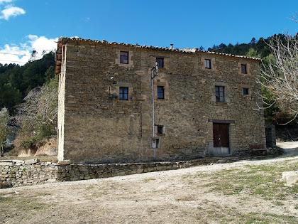 Façana oriental de La Vall