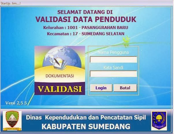 Software data penduduk