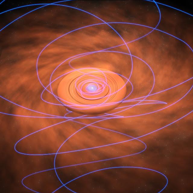 Campos magnéticos protoestrella