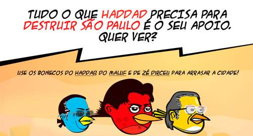 angry haddad campanha jose serra