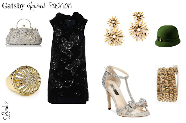 Great Gatsby Party Fashion Attire Details