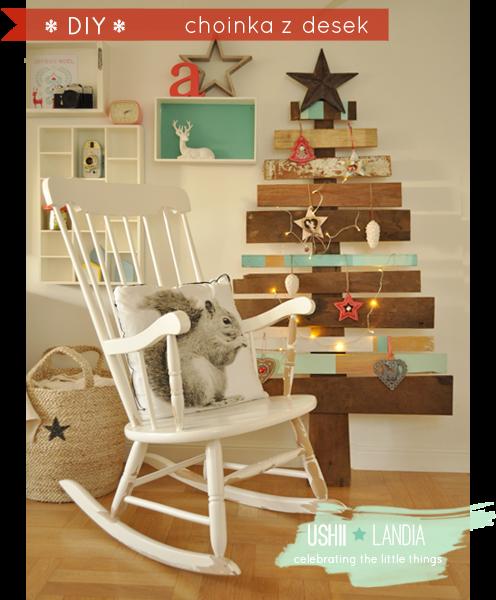 wooden christmas tree_choinka z desek, drewniana choinka
