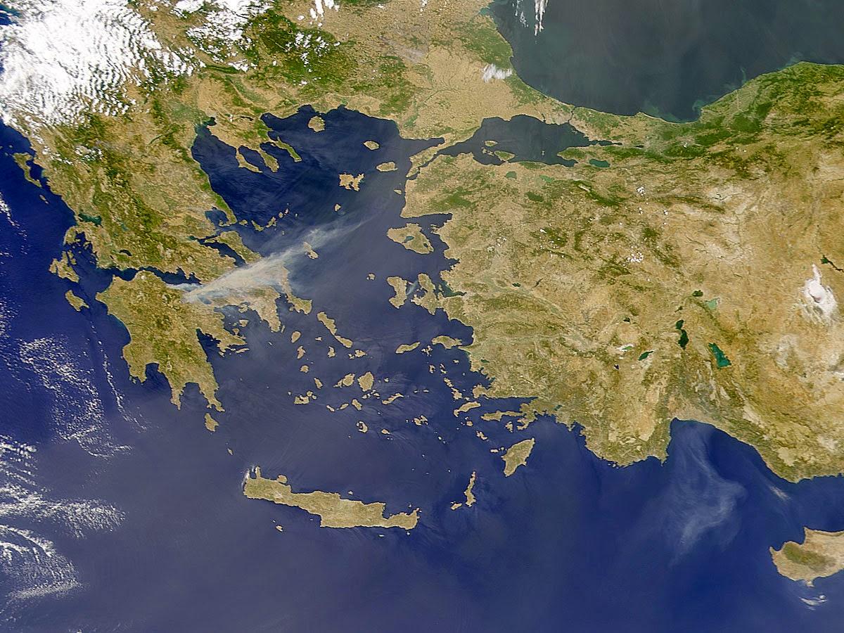 Греция космос