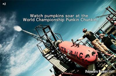 Put Pumpkin hurling on your bucket list!