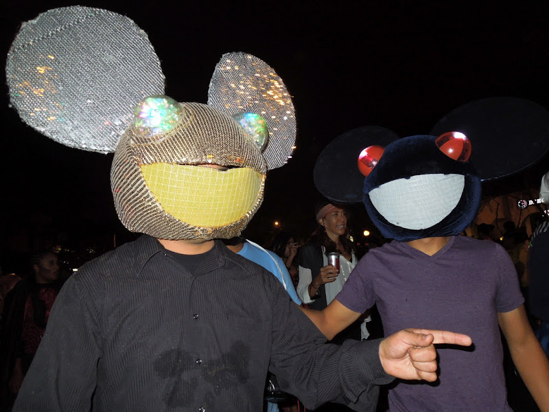 DJ Deadmau5 WEHO Halloween Carnaval