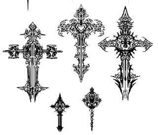 Christian Cross Tattoo Designs