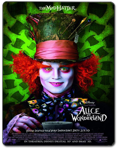 Alice no País das Maravilhas Torrent (2010) – BluRay 3D / 1080p / 720p Dublado Download