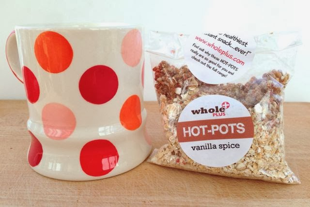 Whole Plus - Hot Pots - Vanilla Spice - Vegan Snack Porridge