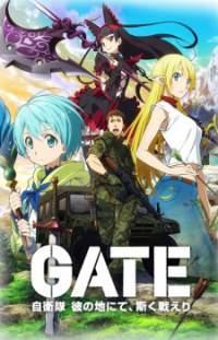 Gate: Jieitai Kanochi nite, Kaku Tatakaeri 01 Subtitle Indonesia