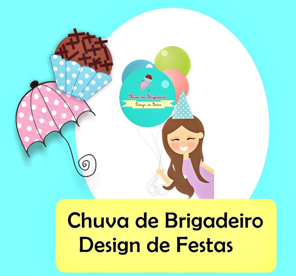 Chuva de Brigadeiro - Design de Festas