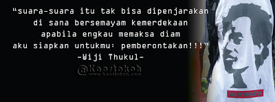 Quote Tokoh Wiji Thukul Quotes