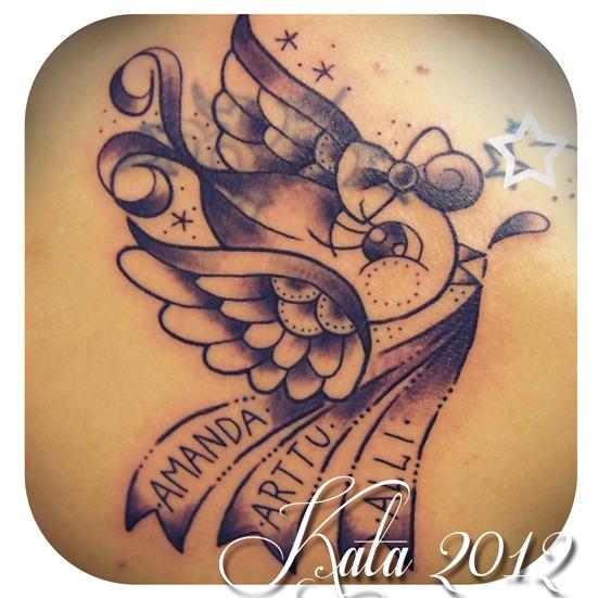 raskausviikko 20 feeniks lintu tatuointi