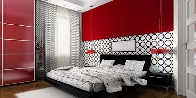 contoh dekorasi kamar tidur hemat biaya koleksi gambar