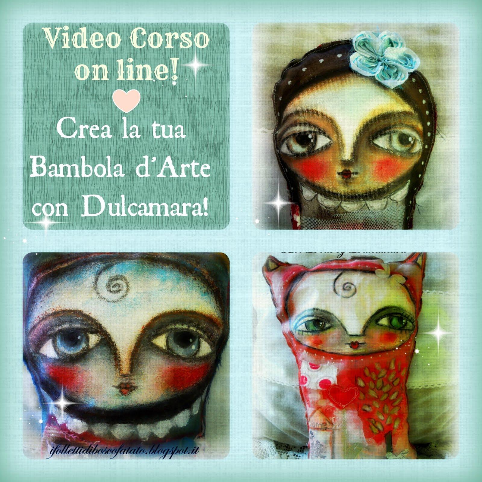 Crea la tua bambola d'Arte con Dulcamara!