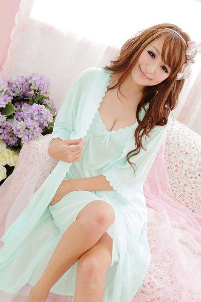 gambar Baju Tidur Cantik sl1208 Mint