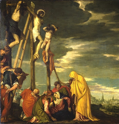 Crucifixion Paolo Vernonese 1580