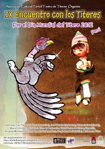 IX Encuentro con los Títeres Por el Día Mundial del Títere 2012