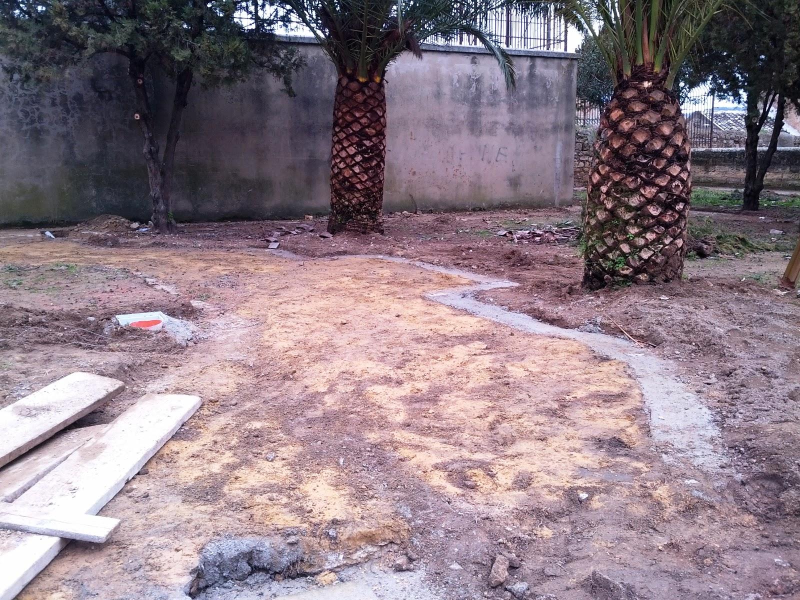 Nobile quartiere monte mira giardino scibona lavori in corso - Lavori in giardino ...