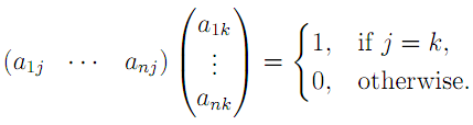 Linear Algebra: #20 Characterizing Orthogonal, Unitary, and Hermitian Matrices equation pic 3