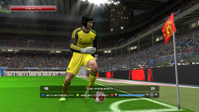 Corner Flag Man United PES 2014 By Firas Zinou